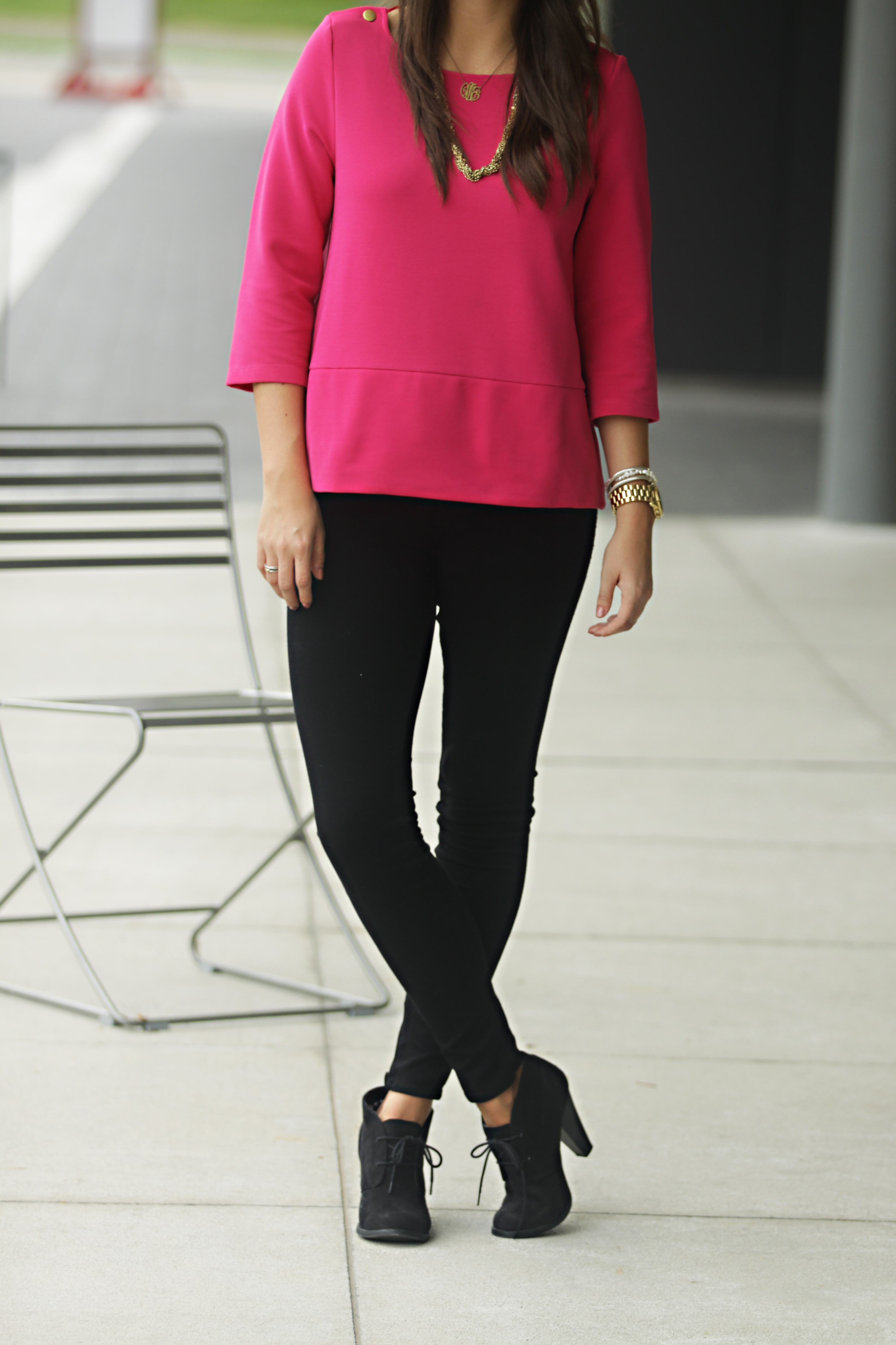 Because skinny jeans have gone from left-field to front row. These days, wearing a pair of black skinny jeans isn't so much a provocative statement as proof you have a classic taste in clothes.