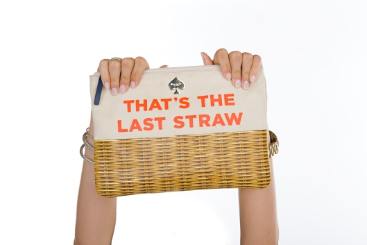 kate spade clutch that's the last straw