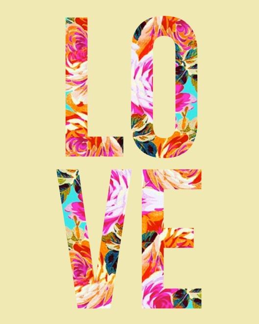 lovely floral print